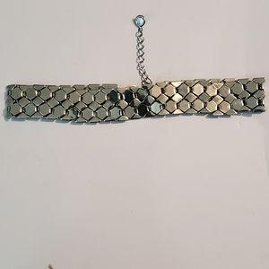 Express silver chocker